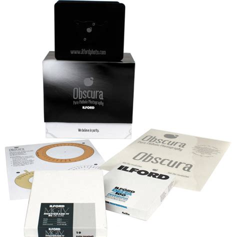 kit oscura ilford obscura pinhole kit 1174029 b h photo