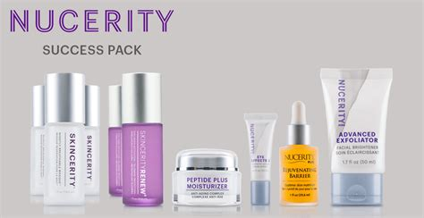 Nucerity Skincerity united states canada and australia activation packs