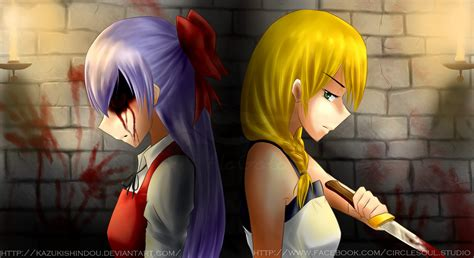 the witch house the witch s house ellen x viola by kazukishindou on deviantart
