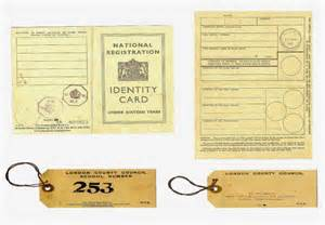 Evacuee Tag Template by Ww2 Replica Children S Id Card Evacuee Tag