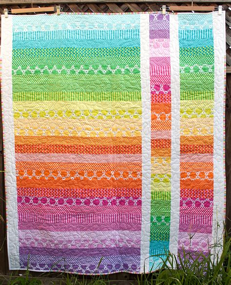 rainbow quilt as designed