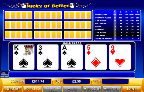 free jacks or better jacks or better free bingo no deposit required