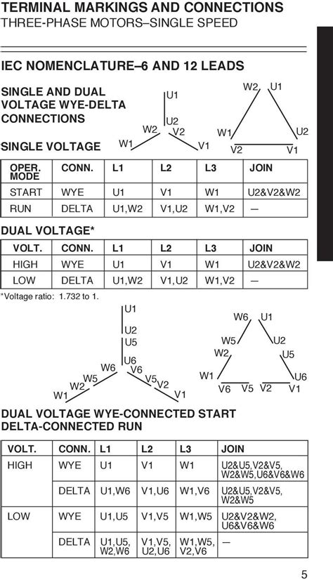 weg motor wiring diagram 480 volts 3 phase electrical