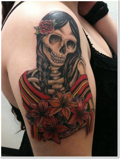 42 dramatic mexican tattoos a look into the dark world of