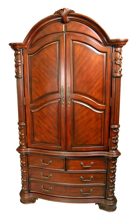 Large Tv Armoire by Large Mahogany Tv Armoire Ebay