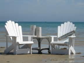 cape cod adirondack chairs in white rustique