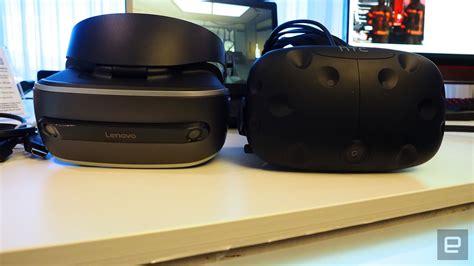 Vr Lenovo Lenovo S New Vr Headset Packs More Pixels At Lower Weight
