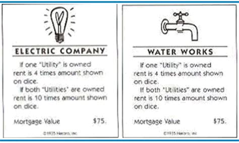 What Questions To Ask When Buying A House by Monopoly Are The Utilities Worth Buying Board Amp Card