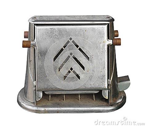 Time Toaster Old Electric Toaster Isolated Stock Photo Image 36348460