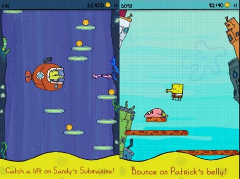 doodle jump spongebob apk doodle jump spongebob v 1 0 mod android 187 4pda info