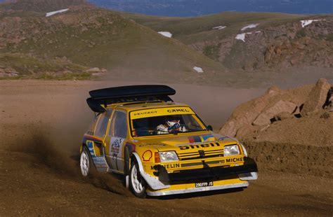peugeot 205 t16 1987 peugeot 205 t16 pikes peak peugeot supercars net