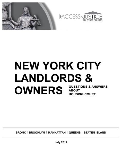 housing court answers landlordsny resources
