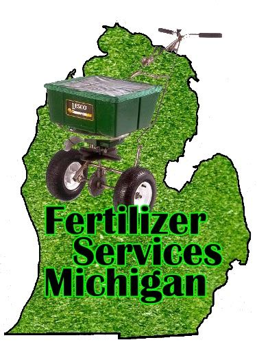 service michigan fertilizer services michigan lawn fertilization
