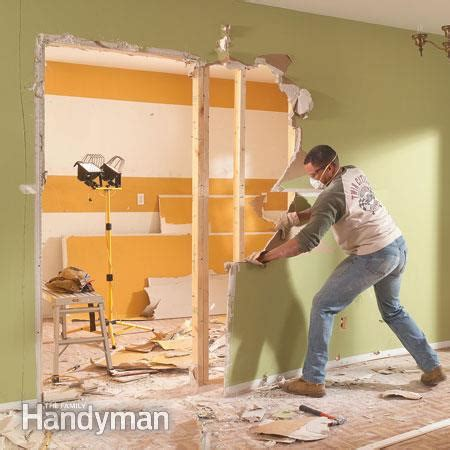 cost to remove load bearing wall how to install a load bearing beam the family handyman