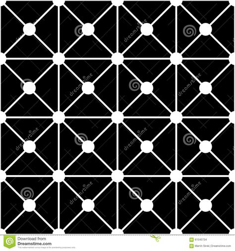 seamless geometric dots pattern stock vector art more vector modern seamless geometry pattern dots black and
