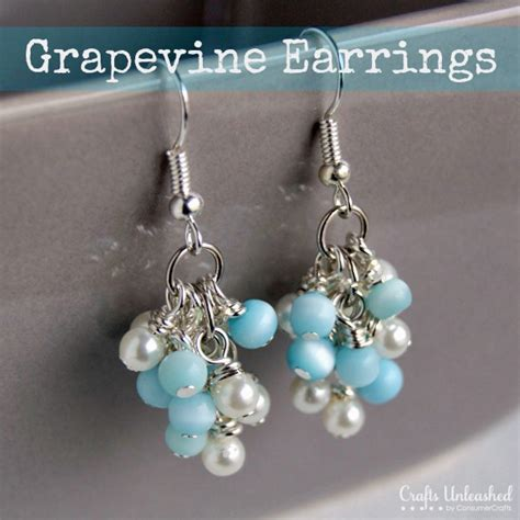 how to make jewelry earrings diy earrings tutorial grapevine style crafts unleashed