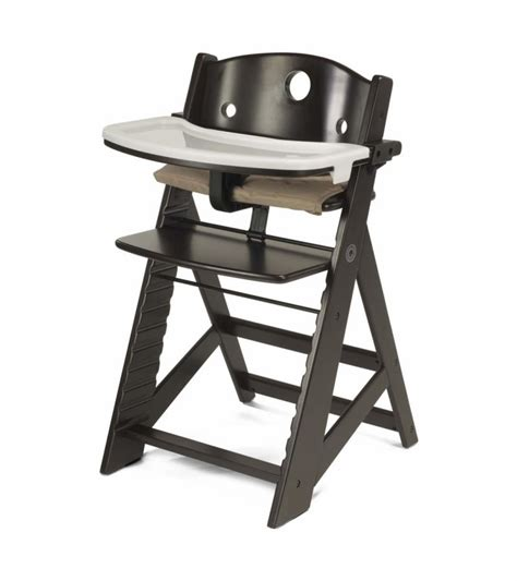 Keekaroo High Chair Reviews by Keekaroo Height Right High Chair With Tray Espresso