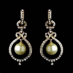 dangly earring pearl dangle earrings bridal hair accessories