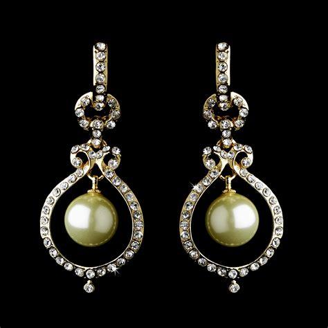 Dangle Earring pearl dangle earrings bridal hair