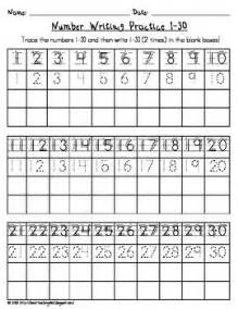 number writing practice writing practice and writing on