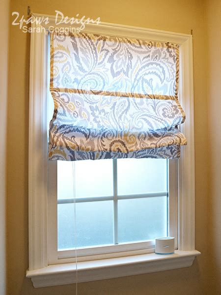 diy blinds curtains diy roman shades from mini blinds 2paws designs