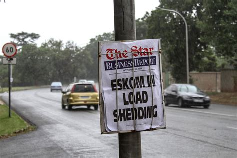 Load Shedding In Johannesburg by South Africa Faces Credit Scrutiny Amid Blackouts Wsj