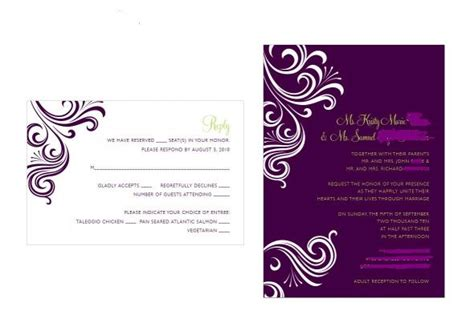 purple and green wedding invitations purple green weddingbee