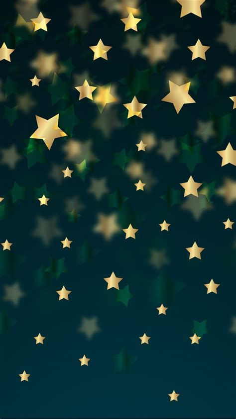 fondos de pantalla fondo de estrellas doradas  hd imagen