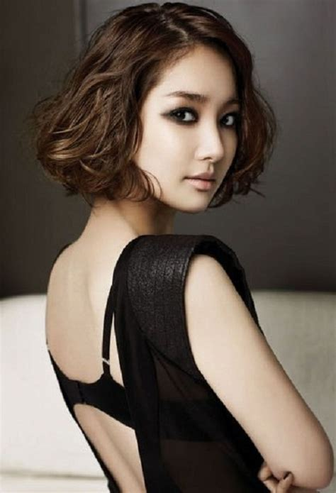 waivy korean hair style easy short korean curly hairstyles latest hair styles