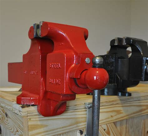 quality bench vise desmond simplex 61p another 6 inch wide jaw vise joel m