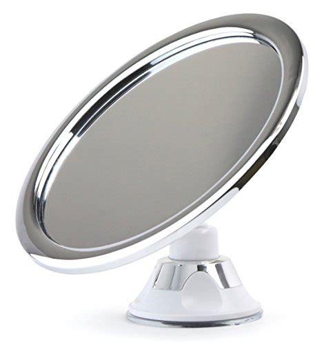 no fog bathroom mirror shower shaving no fog no steam chrome bathroom mirror by