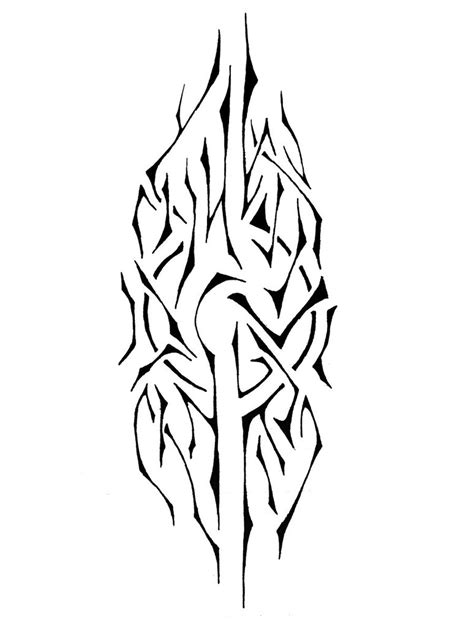 outline tribal tattoo outline tribal stencil tattooshunt