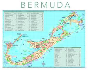 bermuda on a map detailed tourist map of bermuda bermuda detailed tourist map vidiani maps of all