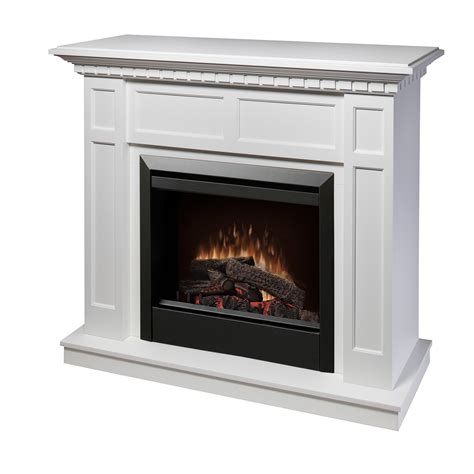 electric fireplace and mantle dimplex caprice dfp4743w electric fireplace wall mantel
