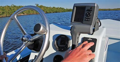boat finder mmsi how to install a fishfinder boatus magazine