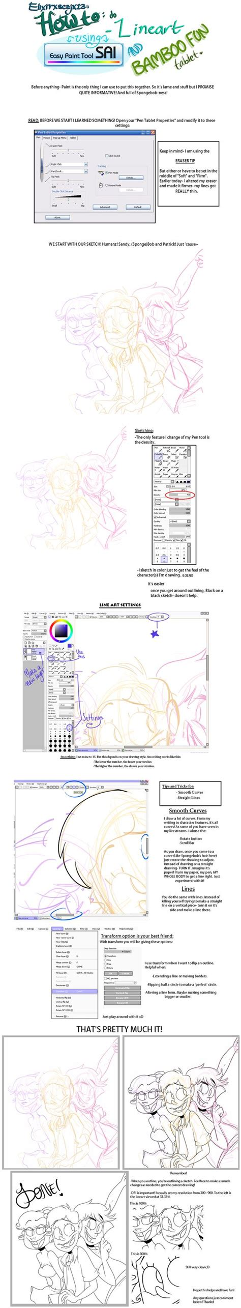 paint tool sai reference lineart on paint tool sai by elixirxsczjx13 deviantart