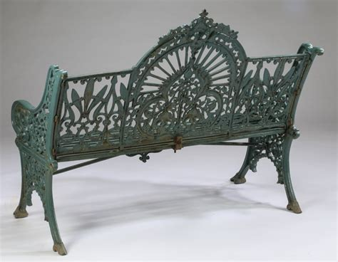 victorian style bench victorian style wrought iron garden bench