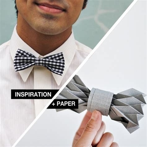 Make A Paper Bow Tie - inspiration paper origami paper bowtie design and paper