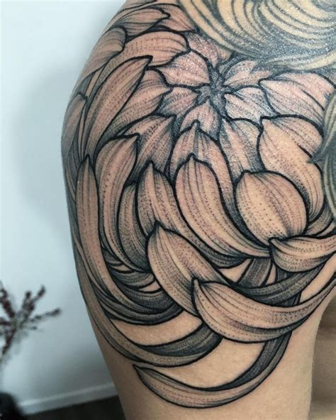 chrysanthemum tattoo design 75 cool chrysanthemum designs pass your message