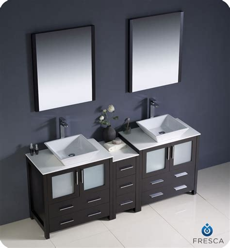 Modern Sink Bathroom Vanities Canada Fresca Torino 72 Quot Espresso Modern Sink Bathroom