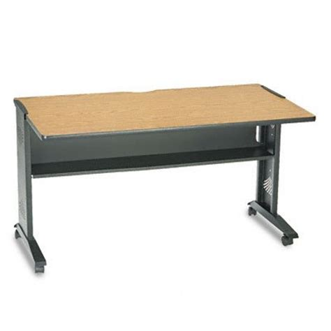 safco 1933 54 reversible top desk safco 1933 54 by 28 by 30 inch mobile computer desk with