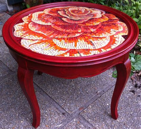 mosaic rose pattern image result for mosaic rose on round table mosaic ideas
