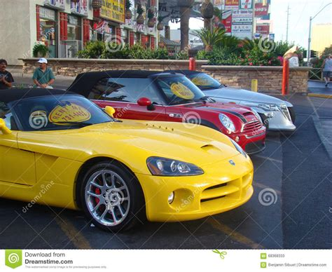 colorful cars colorful mini cooper cars royalty free stock image