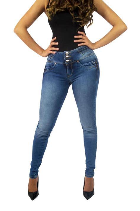 jeans para mujer newhairstylesformen2014 com jeans ajustados para mujer con corte entubado en color