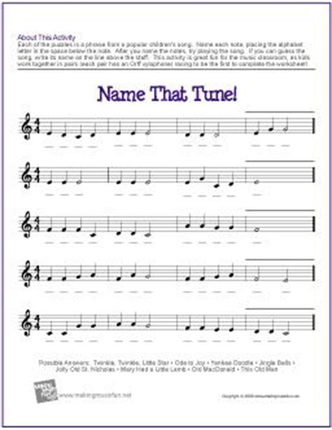 Theory Drill For Children 1 Letter Names printables basic theory worksheets beyoncenetworth worksheets printables