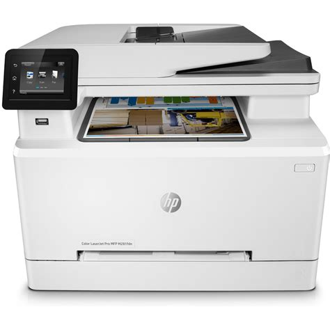 multifunction color laser printer hp color laserjet pro mfp m281fdn a4 colour multifunction