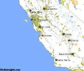 where is salinas california on the map of california salinas vacation rentals hotels weather map and attractions
