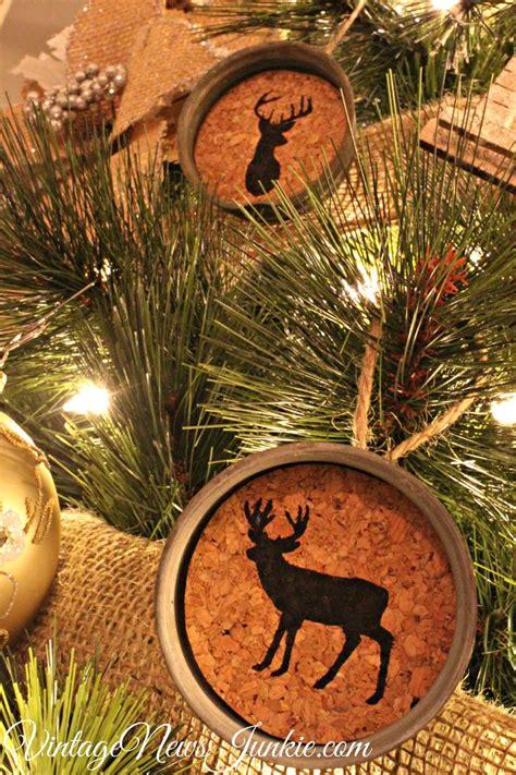 ideas  rustic christmas ornaments