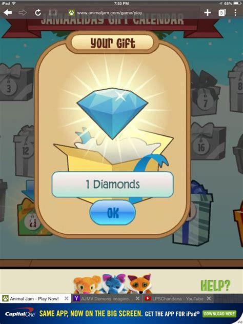 Animal Jam Diamond Gift Card - diamonds animal jam wiki