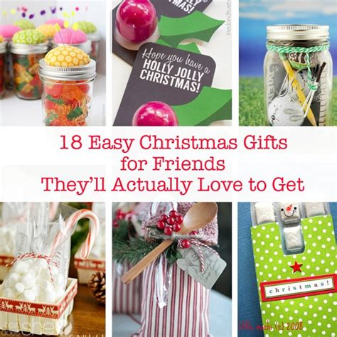 Easy Handmade Gifts For Friends - easy gifts for friends 28 images
